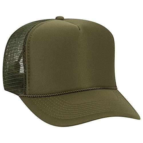 OTTO Wholesale Mesh Trucker Hats (12 Hats) - Ol.Green -