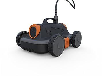 Kokido RC20CBX/EU - Robot Piscina Limpiafondos Kokido Drakbot ideal para piscinas desmontables de hasta 4, 27 m (17.000 l/h) - Incluye 2 filtros: Amazon.es: ...