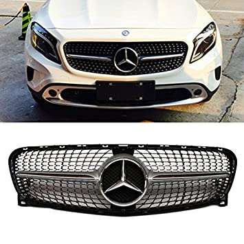 c amg benz fins class grille grill grande mercedes collections