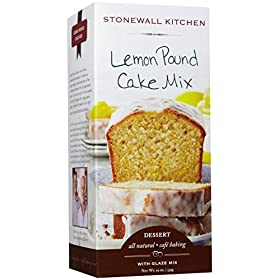 Stonewall Kitchen Lemon Pound Cake Mix, 19 Ounce Box