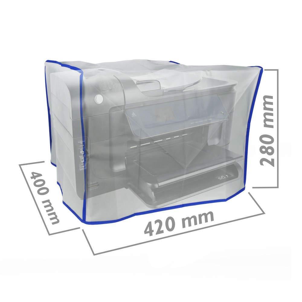 BeMatik - Funda Protectora de Polvo Cubierta para Impresora lá ser Universal 420 x 400 x 280 mm BeMatik.com