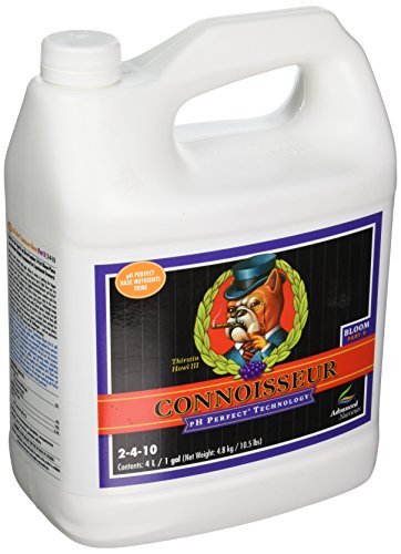 Advanced Nutrients Connoisseur Part - Advanced Nutrients pH Perfect Connoisseur Bloom Part B Plant Nutrient, 4 L
