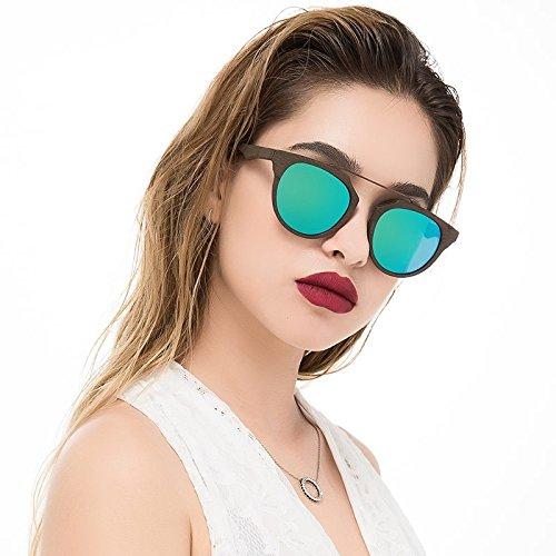 Violeta TIANLIANG04 Madera Placa Sol Acetato Con C19 Gafas Sol La De De Veta Retro GREEN Unisex Gafas De De Protección Polarizadas Uv400 C86 Sol De Gafas qtAtgr