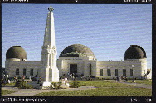 GRIFFITH PARK LOS ANGELES GRIFFITH OBSERVATORY 1773 POSTCARD POST CARD .. from Hibiscus ()
