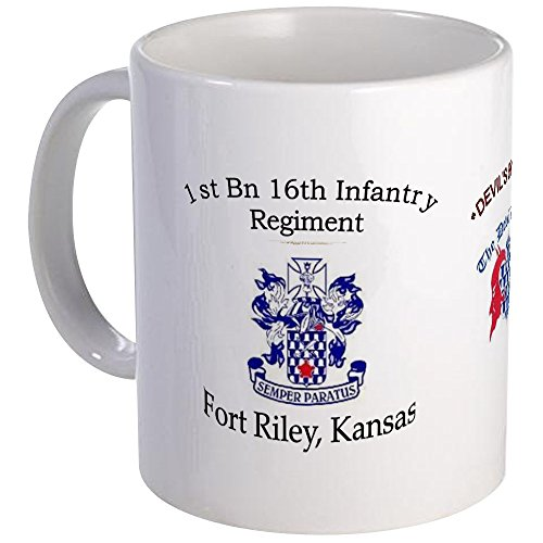 CafePress - 1St Bn 16Th Infantry Mug - Unique Coffee Mug, Coffee Cup