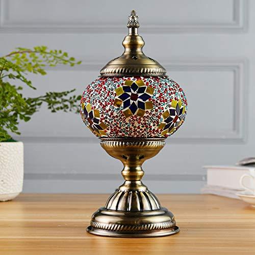 JohnnyLuLu Lámparas de Mesa marroquíes, Luces de Mesa turcas ...