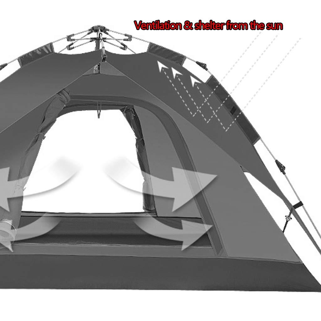 Zelt-automatische Zelt-automatische Zelt-automatische hydraulische Geschwindigkeit öffnen Zelt des offenen Zeltes, das 2-3 Zeltzelt des wilden Zeltes des Erholungszeltes des Bewohners zelt ( Farbe   Orange , Größe   210180115cm ) B07H582RJK Firstzelte Modisch 138cb7
