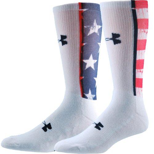 Under Armour UA Stars & Stripes Crew Socks