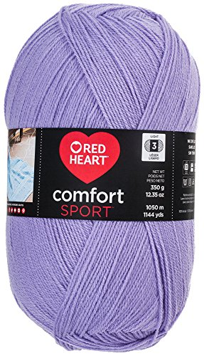 Red Heart Comfort Sport Yarn, Lilac