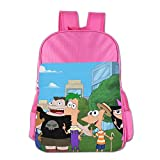Phineas And Ferb Kids Shoulders Bag Pink