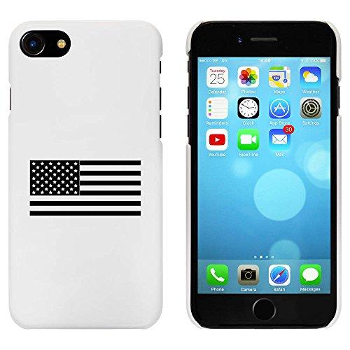 Blanc 'Drapeau Américain' étui / housse pour iPhone 7 (MC00071186)