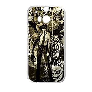 HTC One M8 Cell Phone Case White Death Note HG7647349