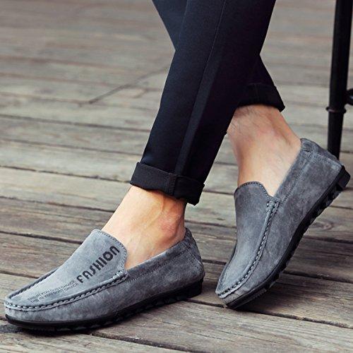 Miyoopark - zapatilla baja hombre gris