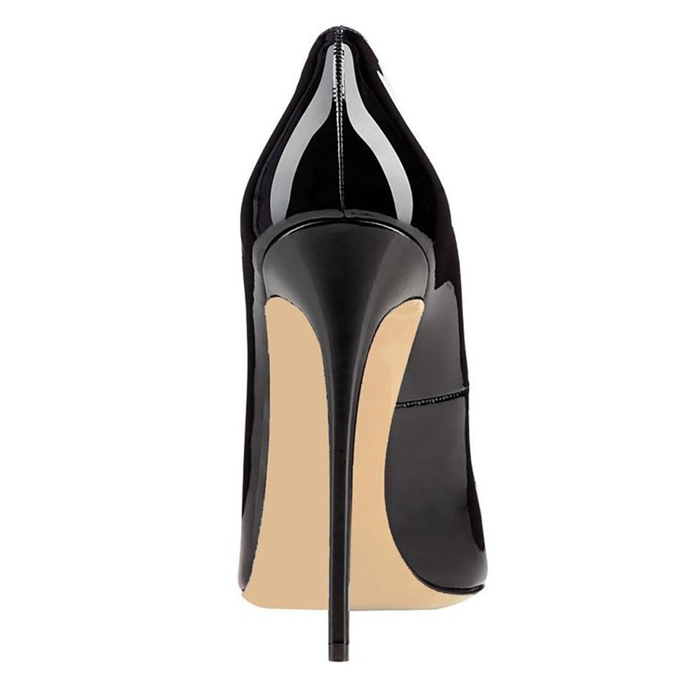 51c7309eb70 Amazon.com   MERUMOTE Women's Y-121 High Heel Pointed Toe Manmade ...