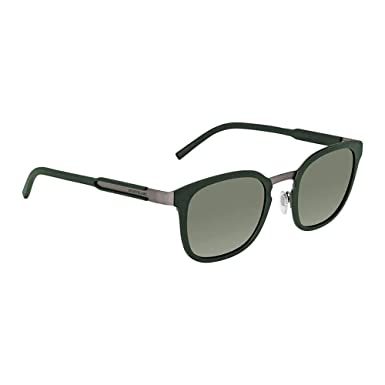 f0d7c155a7 Amazon.com  Montblanc MB603S 97Q Dark Olive Square Sunglasses for Mens   Clothing