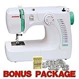 Janome 3128 Sewing Machine with Free 1/4 Inch Foot & FREE BONUS