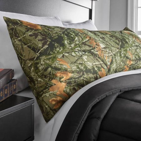 Mainstays Microfiber Body Pillow Cover Camouflage Enchanting Mainstays Microfiber Body Pillow Cover