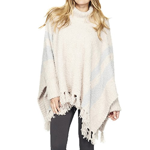 Barefoot Dreams Cozychic Beach Poncho Stone/Ocean by Barefoot Dreams