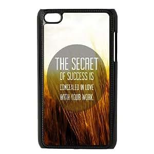 iPod Touch 4 Case Black Secret To Success SUX_931485