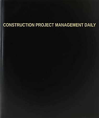 Amazon.com : BookFactory® Construction Project Management Daily ...