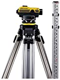 CST/Berger 55-SLVP24ND-3 24X Auto Level Kit with Tripod, Rod and Tricase