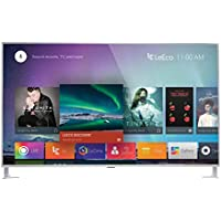 LeEco L654UCNN 65-Inch 4K Ultra HD Smart LED TV, Silver (2016 Model)