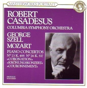 Mozart: Piano Concerto No. 23 in A Major & No. 26 in D Major (CBS Masterworks Portrait) ()
