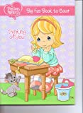 Precious Moments Big Fun Book to Color ~ Thinking of You