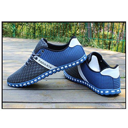 Maille rouge Homme Mode Sneakers Baskets Chaussures d' Sports CHNHIRA Respirant noir Chaussures Loisirs T de en Mode TUwtTafxq