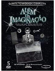 Além da Imaginação 5ª Temporada completa Digibook 5 Discos