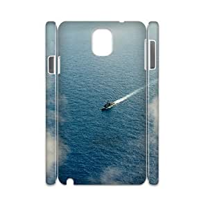 Samsung Galaxy Note 3 Case, us navy ship 3D Case for Samsung Galaxy Note 3 White