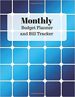 buy monthly budget planner and bill tracker with calendar 2018 2019