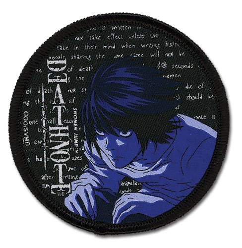 Death Note L Patch GE-7274