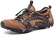 W.H.S Men's Shoes Breathable Hiking Shoes net Shoes Outdoor Leisure Sandals Walking S