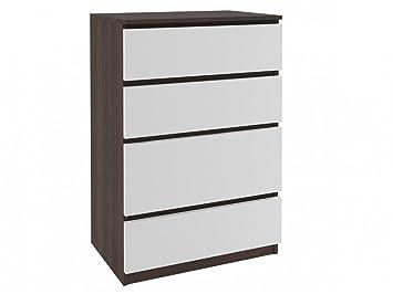 Kommode Mit 4 Schubladen Sideboard Fur Flur Wohnzimmer Oder