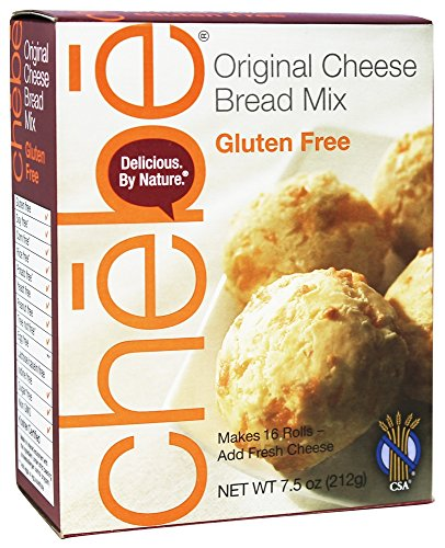 (Chebe Bread Original Cheese Bread Mix, Gluten Free,7.5 Oz Bags,2 Pack)