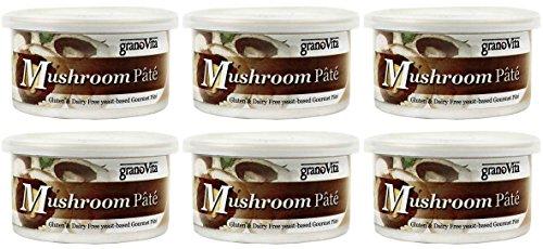 (6 PACK) - Granovita - Mushroom Pate | 125g | 6 PACK BUNDLE ()