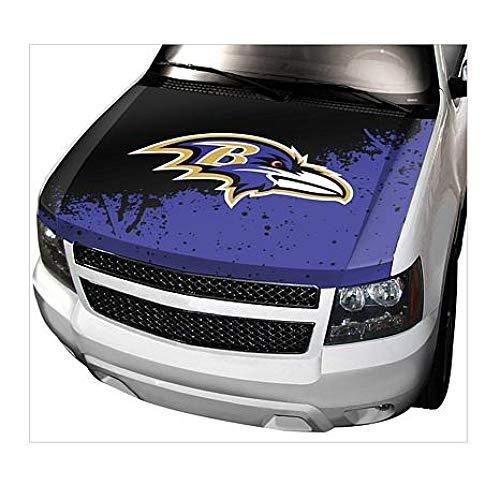 Officially Licensed NFL Car Hood Cover Team ProMark - Ravens -