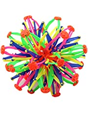 Magic Telescopic Ball, Plastic Stretch Magic Telescopic Ball Toy Bola Colorida Divertida para niños