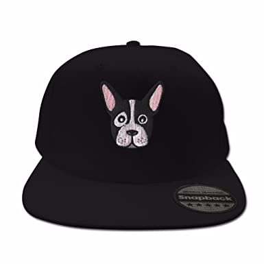 bcffa6859a0 Bang Tidy Clothing French Bulldog Black Snapback  Amazon.co.uk  Clothing