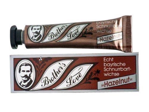 Brothers Love Bartwichse Moustache Wax, Styling Pomade – Hazelnut