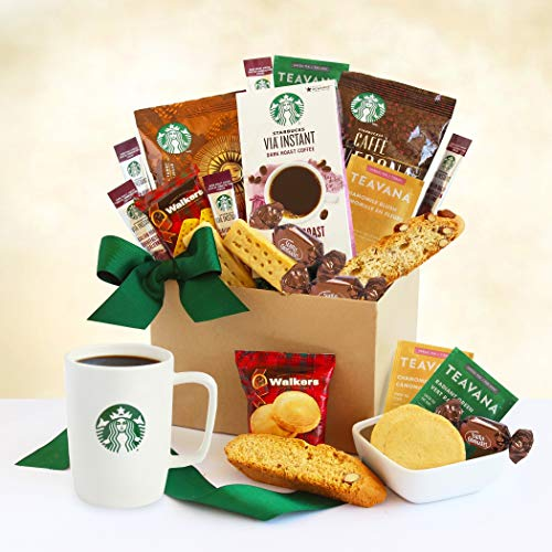 A Delicious Duo! Starbucks Coffee and Tea Gourmet Gift...