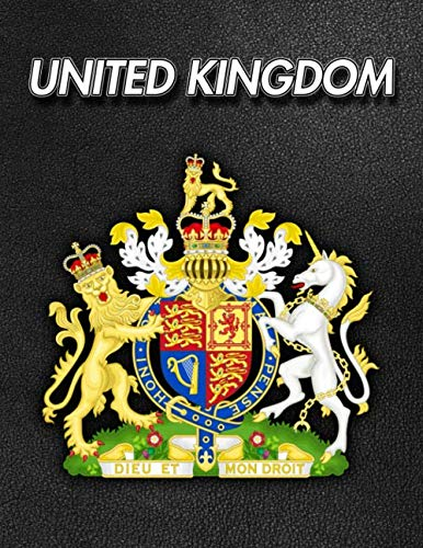 United Kingdom: Coat of Arms | 2020 Weekly Calendar | 12 Months | 107 pages 8.5 x 11 in. | Planner | Diary | Organizer | Agenda | Appointment | Half Spread Wide Ruled Pages (Royal Coat Of Arms Of The United Kingdom)