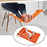 Specifications:  Condition: 100% brand new  Load-bearing: 50 kg  Material: cotton, steel, polyethylene  Size(LxW): 65.5x15.5 cm.   Package included:  1x Foot-rest hammock set
