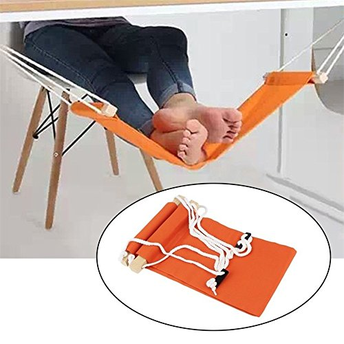 Angelwing Desk Feet Hammock Foot Chair Care Rest Stand Adjustable Portable Office