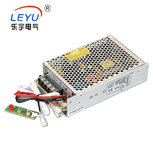 Utini Single Output Type 13.8V Battery Charger Power Supply 120W for Security System with UPS Function