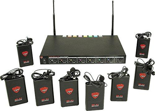 Nady U-81 Octavo LT Wireless Body Pack System (8 Channel U81 Nady Octavo)