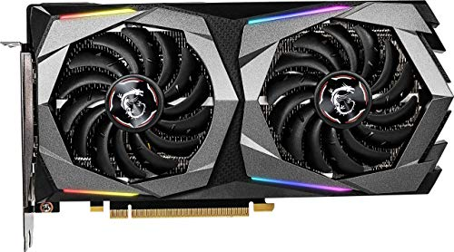 MSI Gaming GeForce RTX 2060 Super 8GB GDRR6 256-bit HDMI/DP G-SYNC Turing Architecture Overclocked Graphics Card (RTX 2060 Super Gaming X) (Renewed)