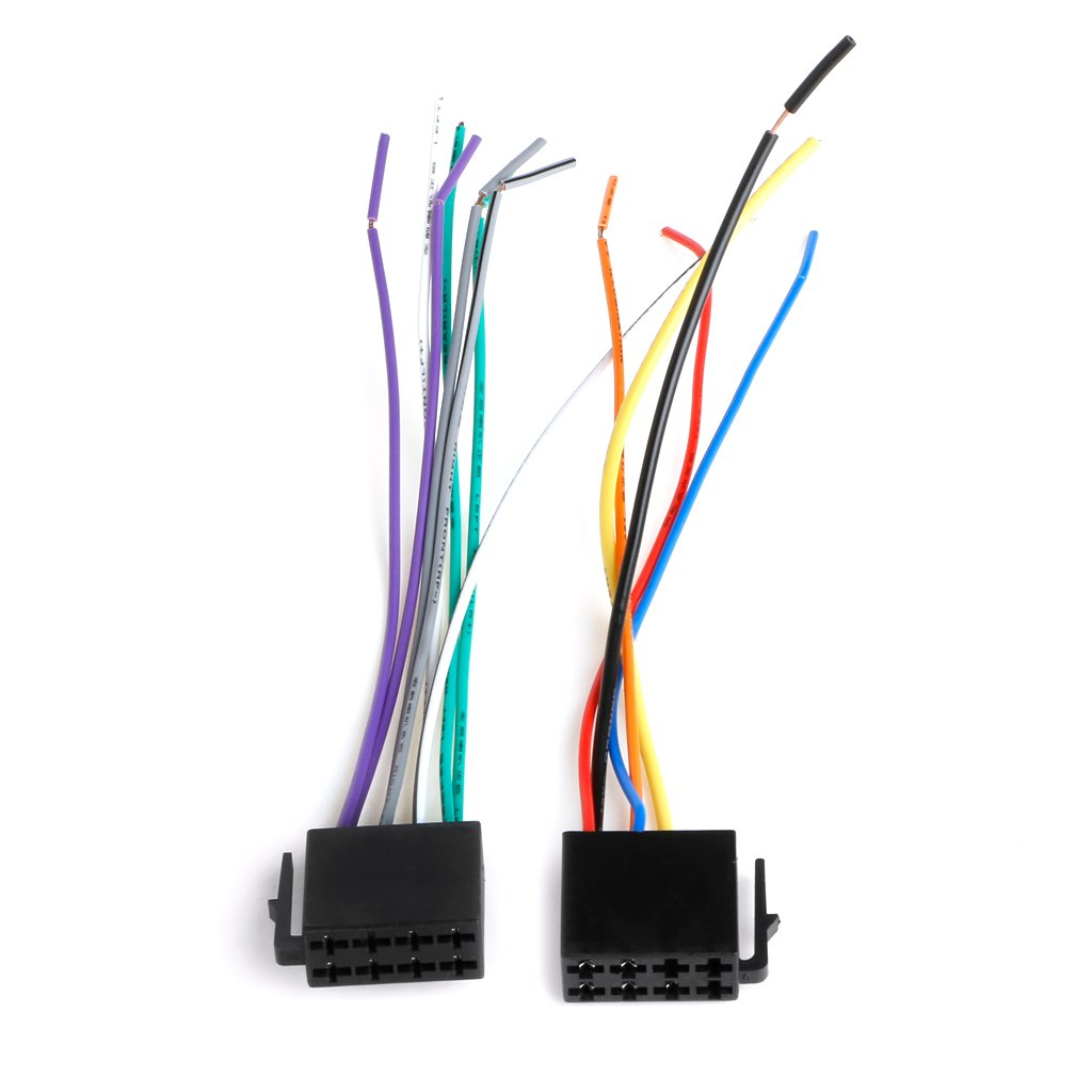 Itlovely Universal Female ISO Wiring Harness Car Radio Adaptor Connector Wire Plug Kit