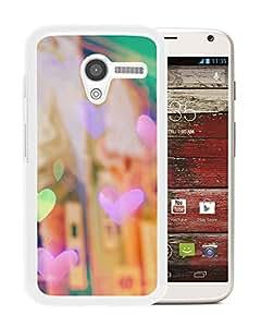 New Beautiful Custom Designed Cover Case For Motorola Moto X With Retro Colors (2) Phone Case